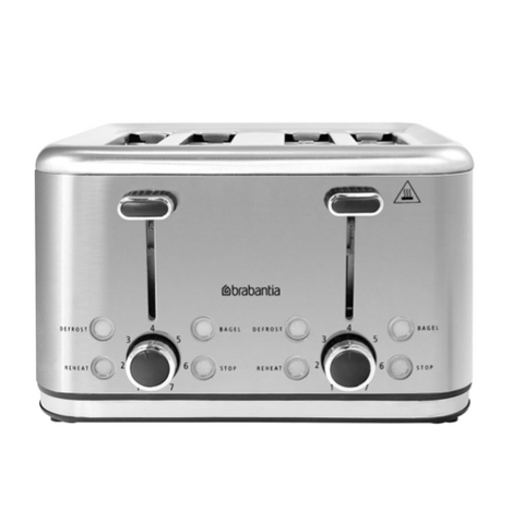 Brabantia Electric Toaster 4 Slice