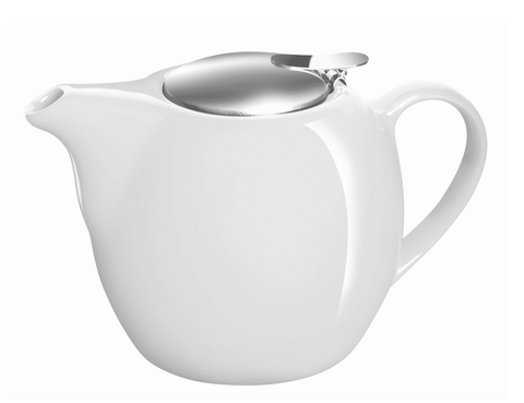 Avanti Camelia Ceramic Teapot 500ml White