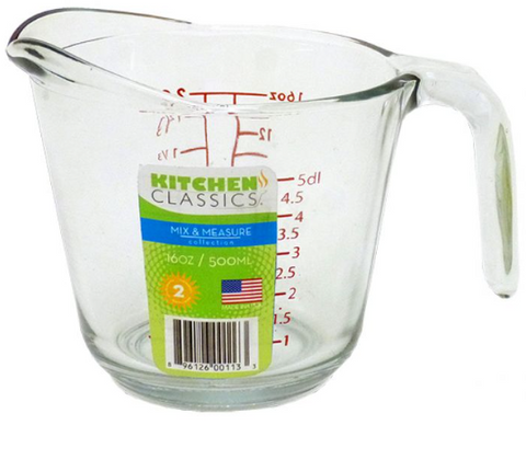 Kitchen Classics Mix & Measure Jug 500ml