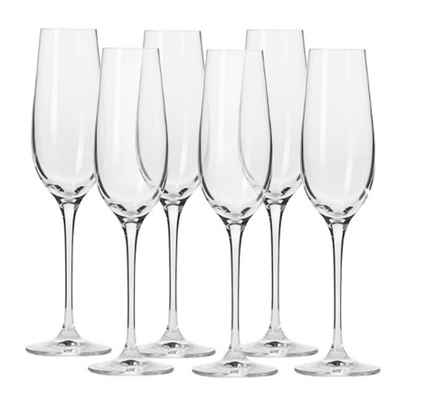 Krosno Harmony 180ml Champagne Flute (set of 6)