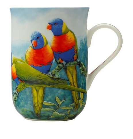 Maxwell & Williams Birds of Australia Mug Lorikeet