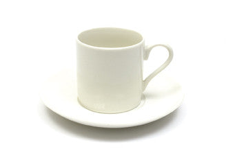Maxwell & Williams - 120ml Straight Demi Cup and Saucer@interiahomewares.com