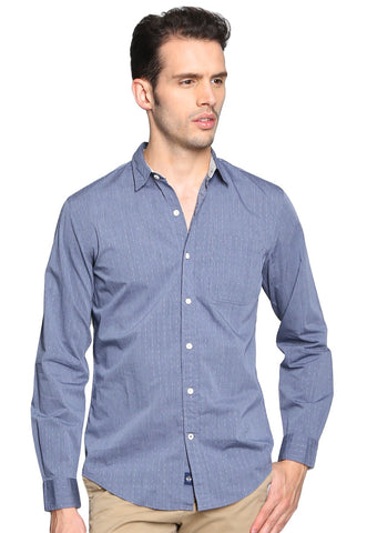 Camisa Azul Slim Fit