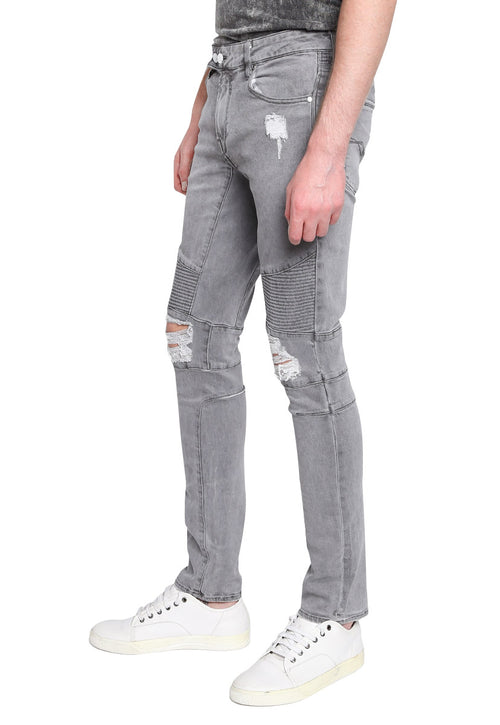 Jeans Skinny Gris - Guess