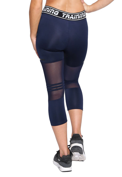 Leggings Deportivo Azul Marino - Kinetic