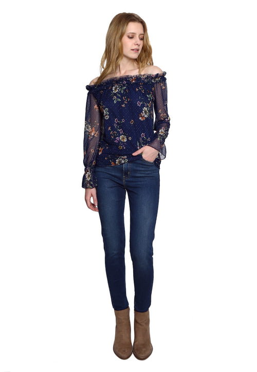 Jeans Super skinny Azul - Levis
