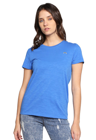Playera Azul Arcoiris