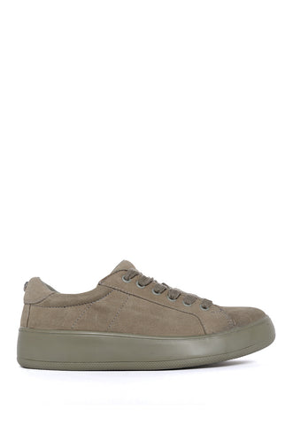 Tenis Olive Suede Casual