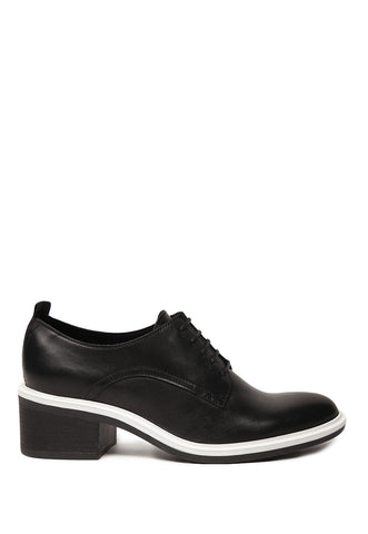 Cool Black Lace Up Shoe