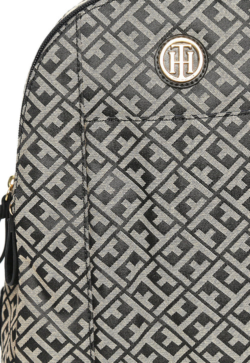 Backpack Negra Monograma - Tommy Hilfiger