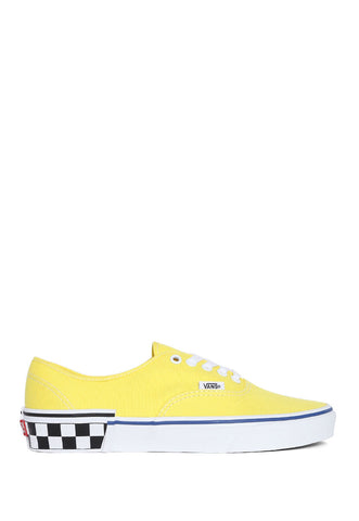 Tenis Amarillo Authentic Check Block