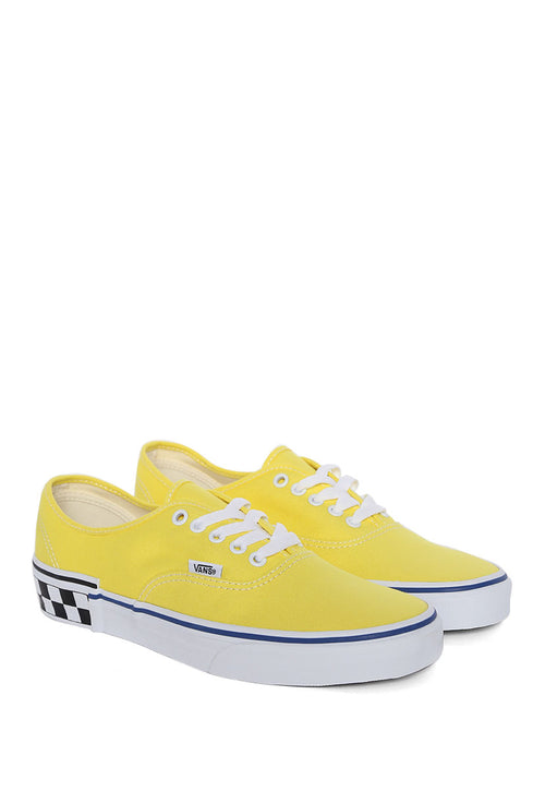 Tenis Amarillo Authentic Check Block - Vans