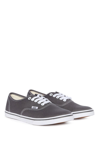 Tenis Gris Authentic Lo Pro