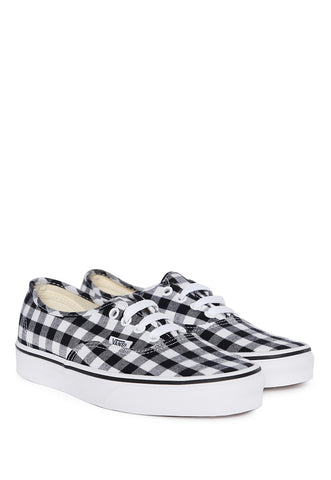 Tenis Blancos Authentic Gingham