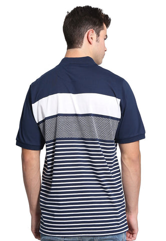 Playera Polo Azul Marino