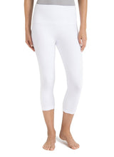 Hue Cotton Capri Leggings U12948