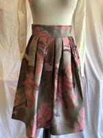 Sharrone Pink and Silver Flair Skirt
