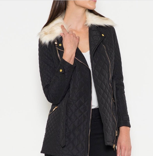 Fate Jacket With Detachable Collar