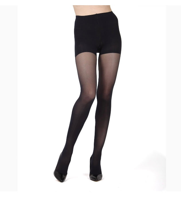 Memoi Firm Fit Control Top 40 Denier Tights MO-840