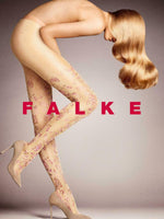 Falke Sparkle Mood Tights with Lurex Yarn and Floral Print 41153