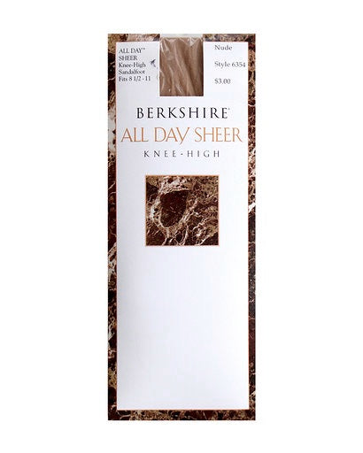 Berkshire All Day Sheer Knee High Sandelfoot 6354
