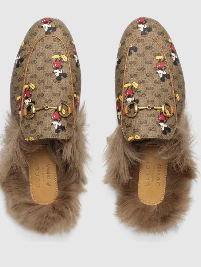 FHTH Design  Mickey Mules With Fur