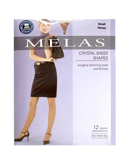 Melas Crystal Sheer Shaper Pantyhose 611