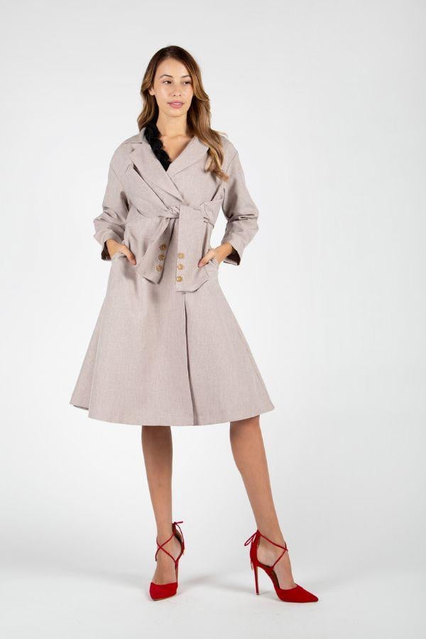 Beulah Trench Dress
