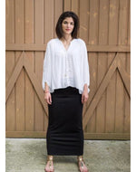 The Slim Skirt Signature Long Maxi Skirt