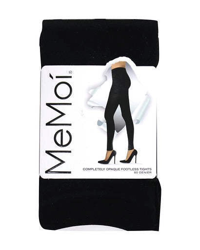 Memoi Completely Opaque Footless Tight 80 Den MO-343