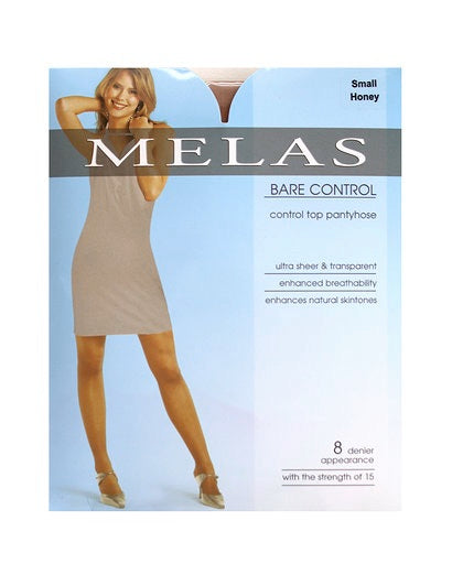 Melas Ultra Sheer Bare Control Top Pantyhose 614