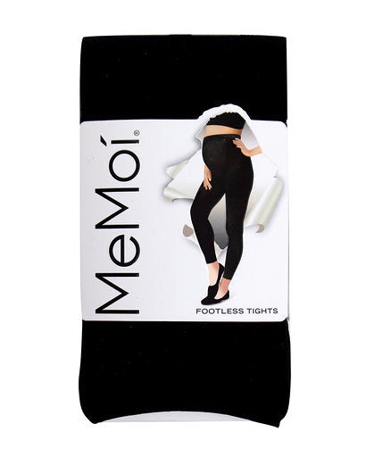 Memoi Maternity Opaque Footless Tights MA-343