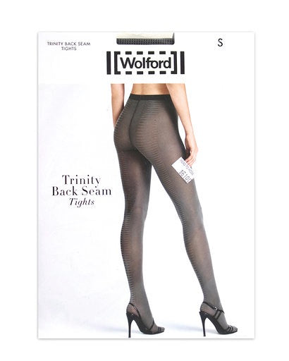 Wolford Trinity Back Seam Tights 14724