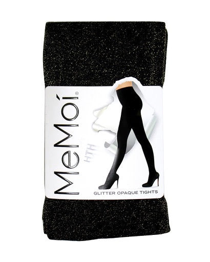 Memoi Glitter Opaque Tights MO-357