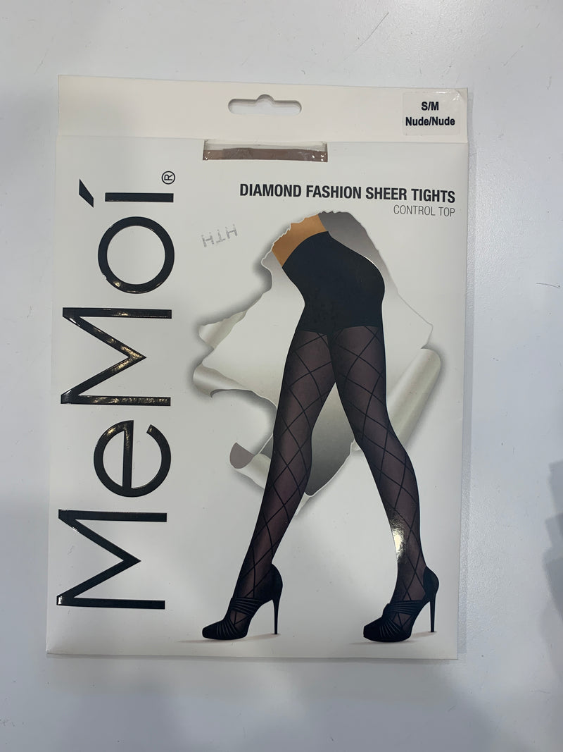 Memoi Diamond Sheer Tights 107