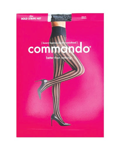 Commando Bold Stripe Net Tights