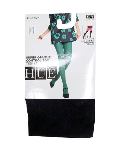 Hue Super Opaque Control Top Tights U6620