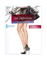 Hanes Silk Reflections Control Sheer Toe Pantyhose 717