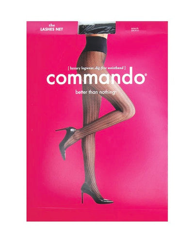 Commando Lashes Net Tights