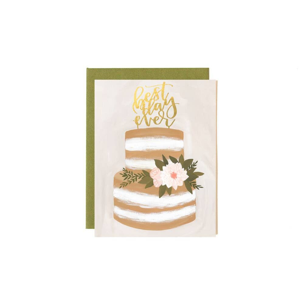 Wedding Best Day Ever Card