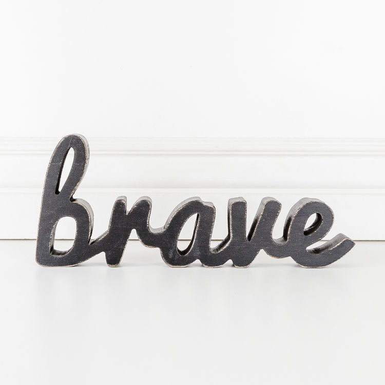 Brave Wood Cutout Black