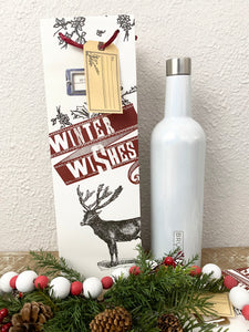 Wine Bag Winter Wishes