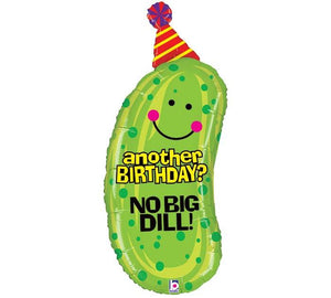 No Big Dill Birthday Oversized Mylar Balloon