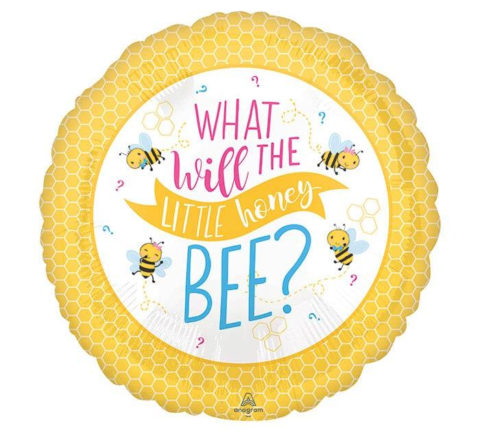 What Will The Little Honey Bee Mylar Balloon