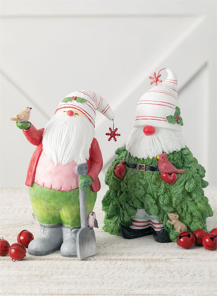Classic Christmas Gnome Duo