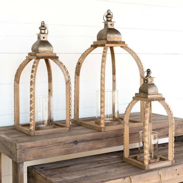 Flower Frame Lanterns