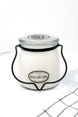 Milkhouse Candle Co. Oatmeal Milk & Honey