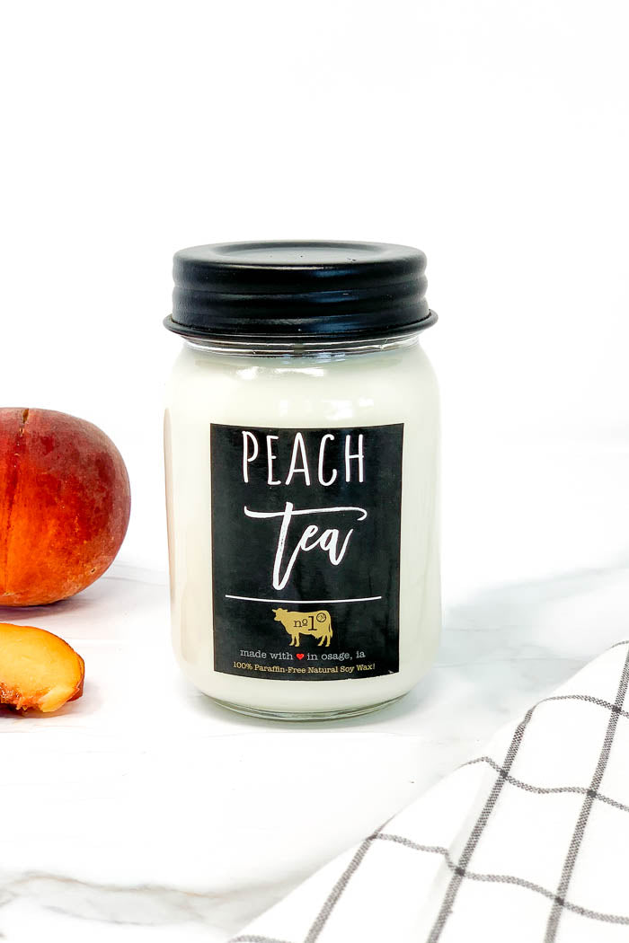 Milkhouse Candle Co. Peach Tea