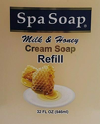 Spa Soap Milk & Honey Cream Soap