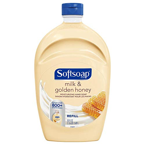 Softsoap Ss Ntls 50F/1.47L Cs Sp Milk & Honey, 3.605 oz